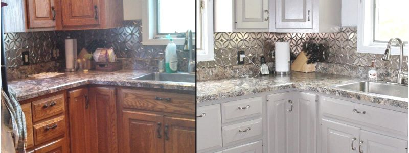 How to Refinish Cabinets with Paint Lovely How to Refinish Cabinets with Paint