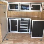 Inspirational V Nose Enclosed Trailer Cabinets