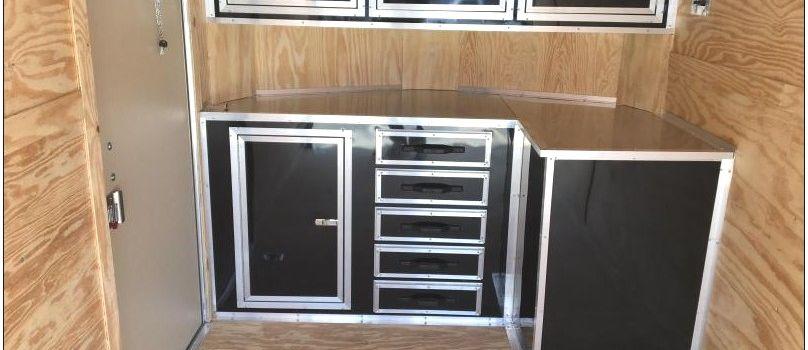 V Nose Enclosed Trailer Cabinets Beautiful V Nose Enclosed Trailer Cabinets