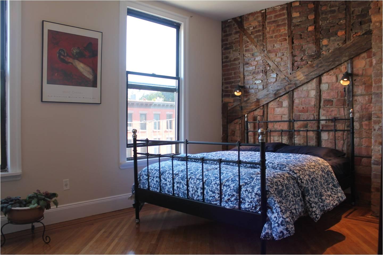 master bedroom lots of light