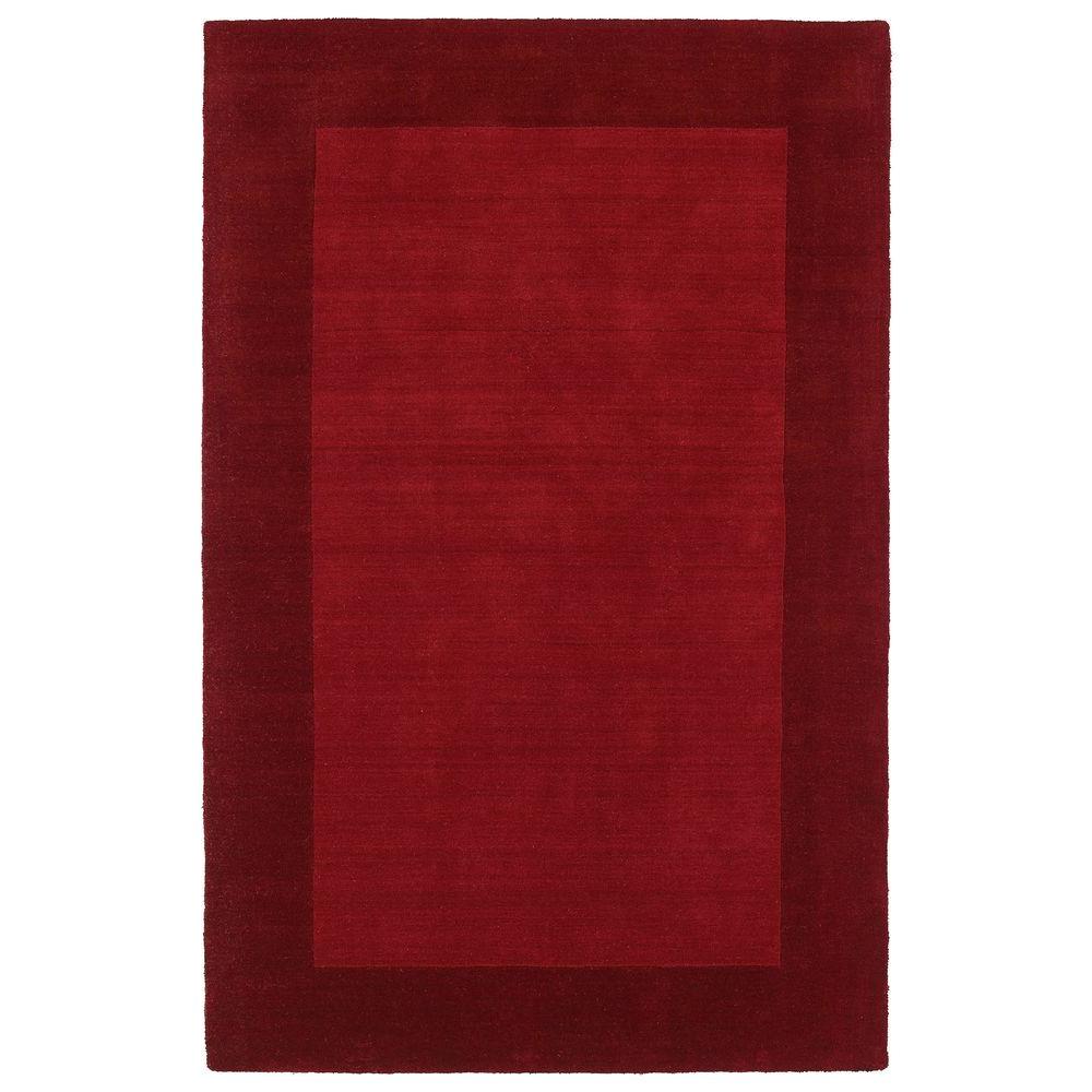 kaleen regency red 8 ft x 10 ft area rug