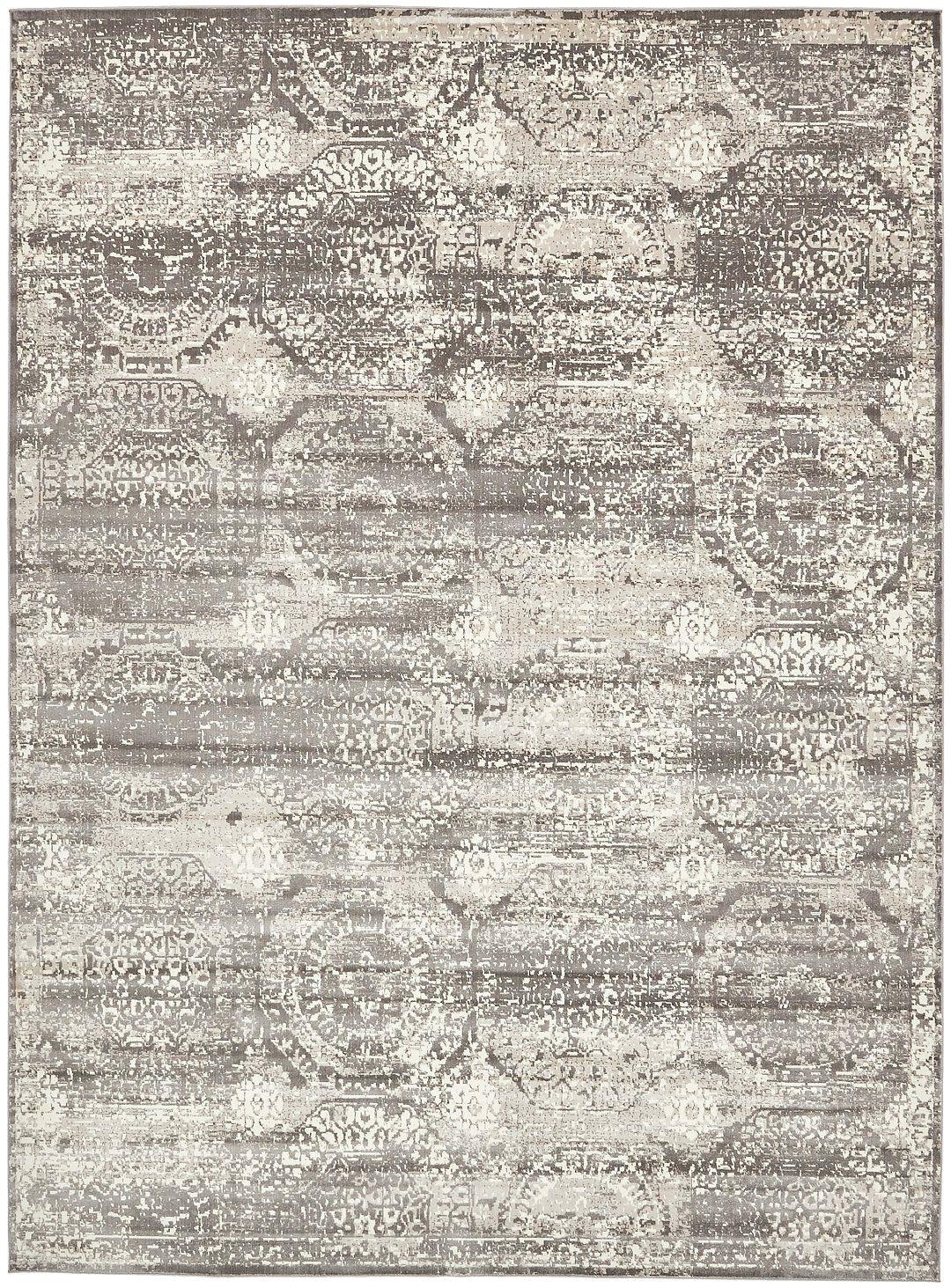 area rug vintage dark gray 10 x 13 5 ft st