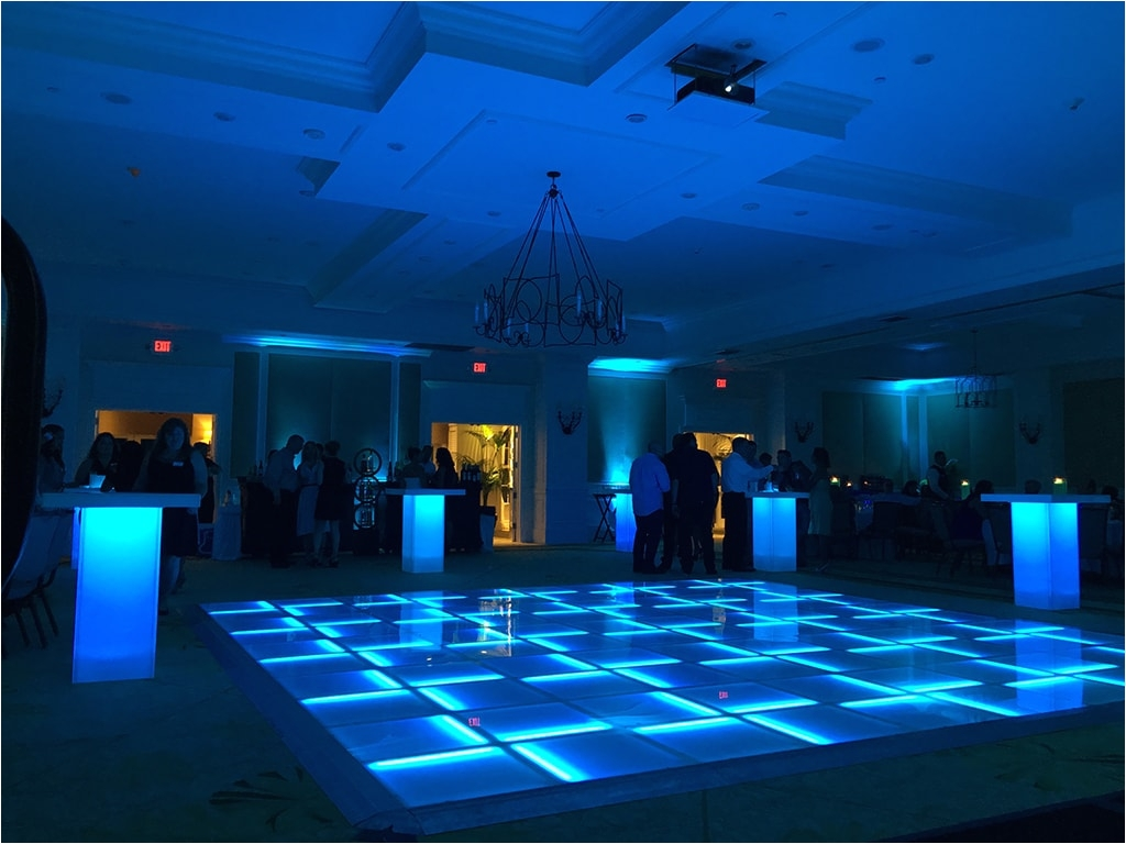 led lit dance floors