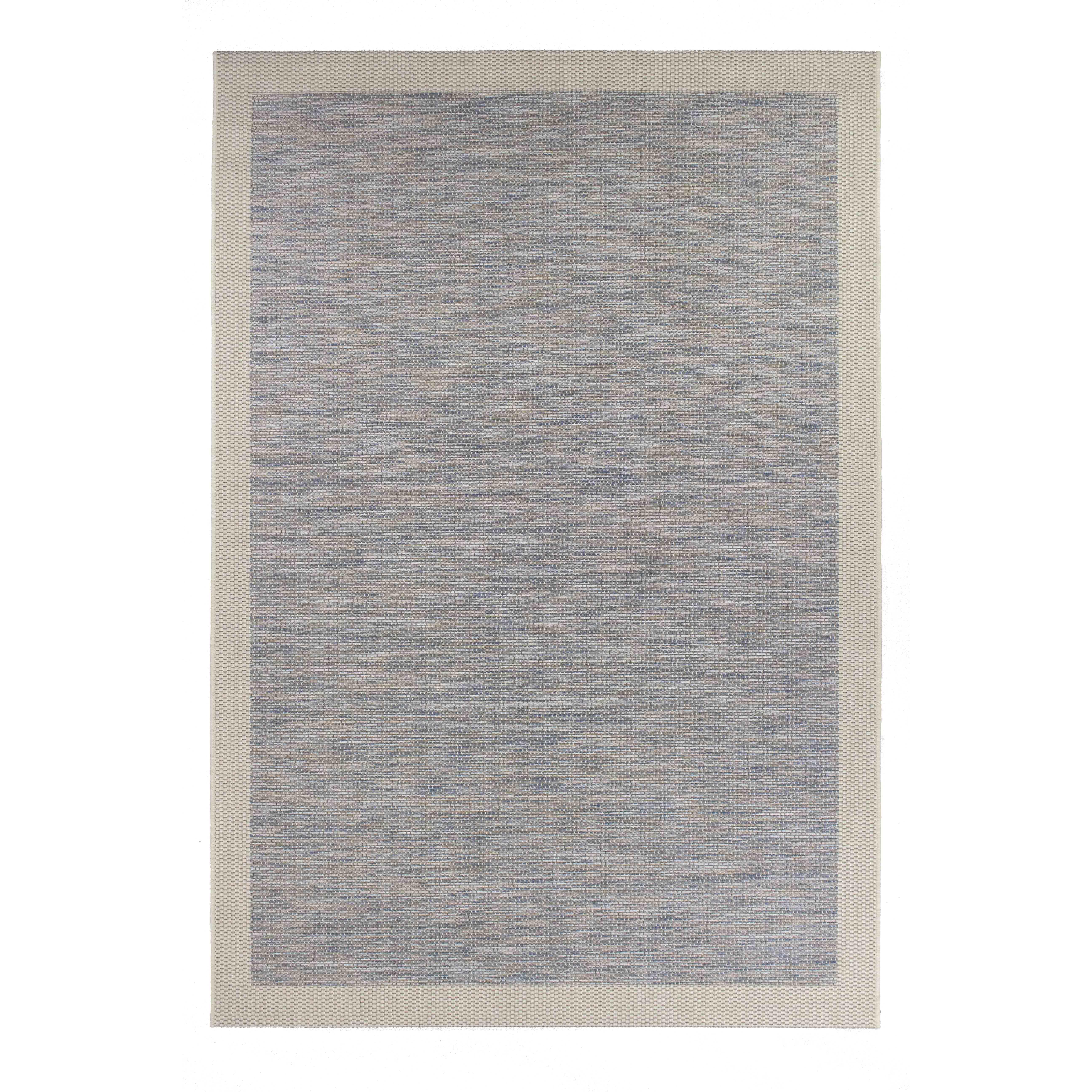 mcthree zephyr raw blue indoor outdoor area rug