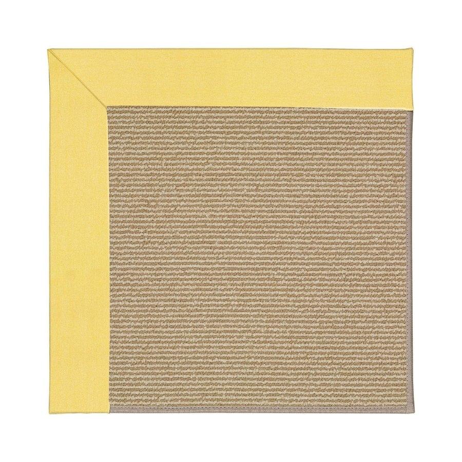 capel rugs zoe sisal yellow indoor outdoor area rug common 12 x 15 actual 12 ft w x 15 ft l