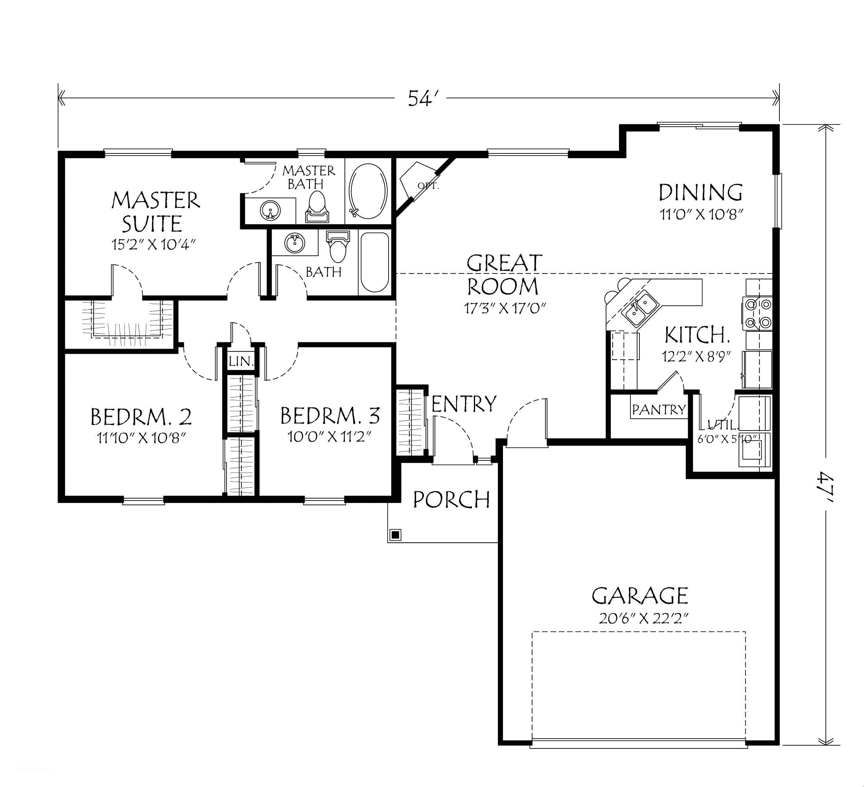 16x20 House Plans | BradsHomeFurnishings