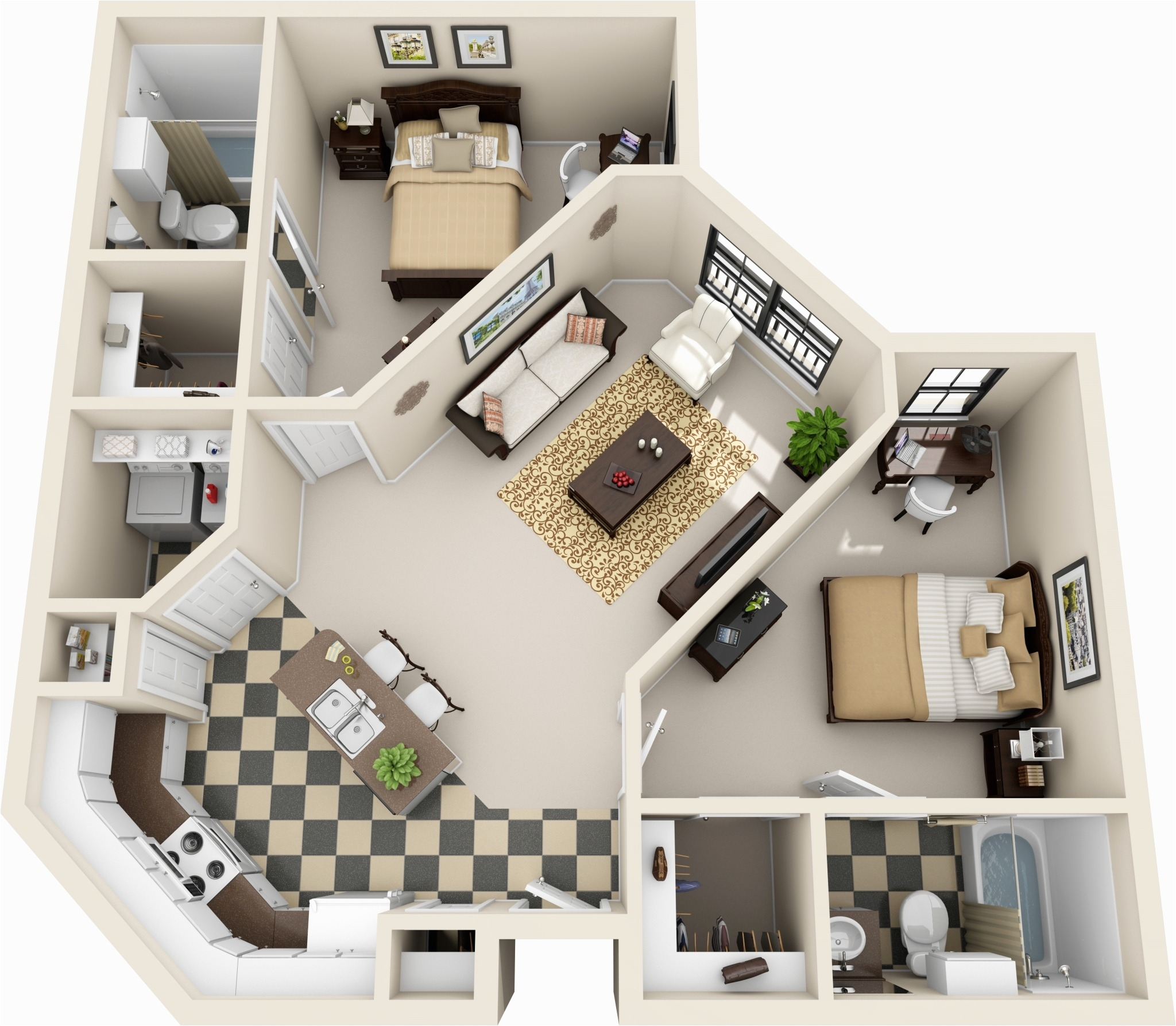 2 bedroom apartments gallery 2 bed 2 bath 2 bed 2 bath apartment in baton rouge la