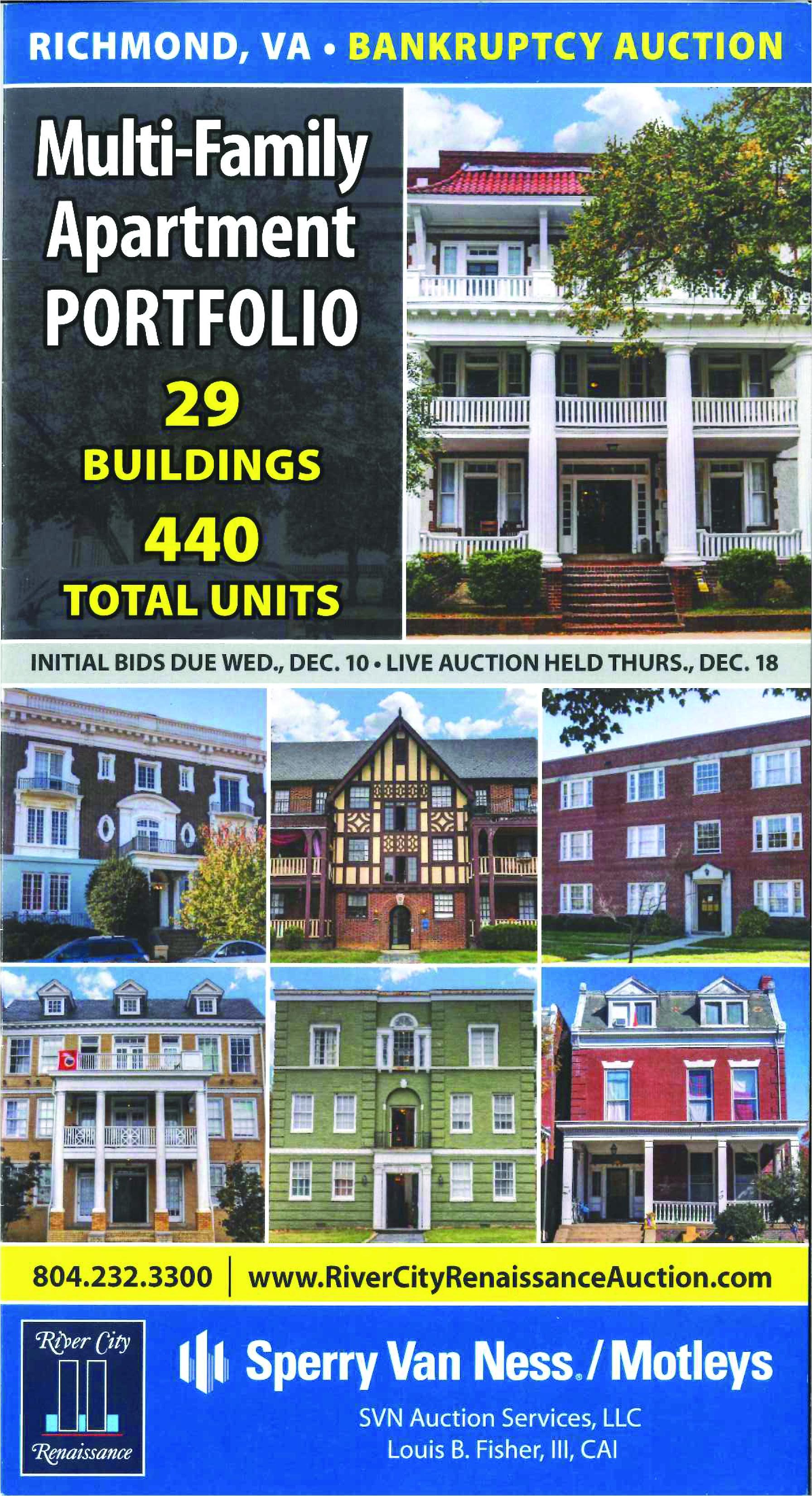 multi family apartment portfolio