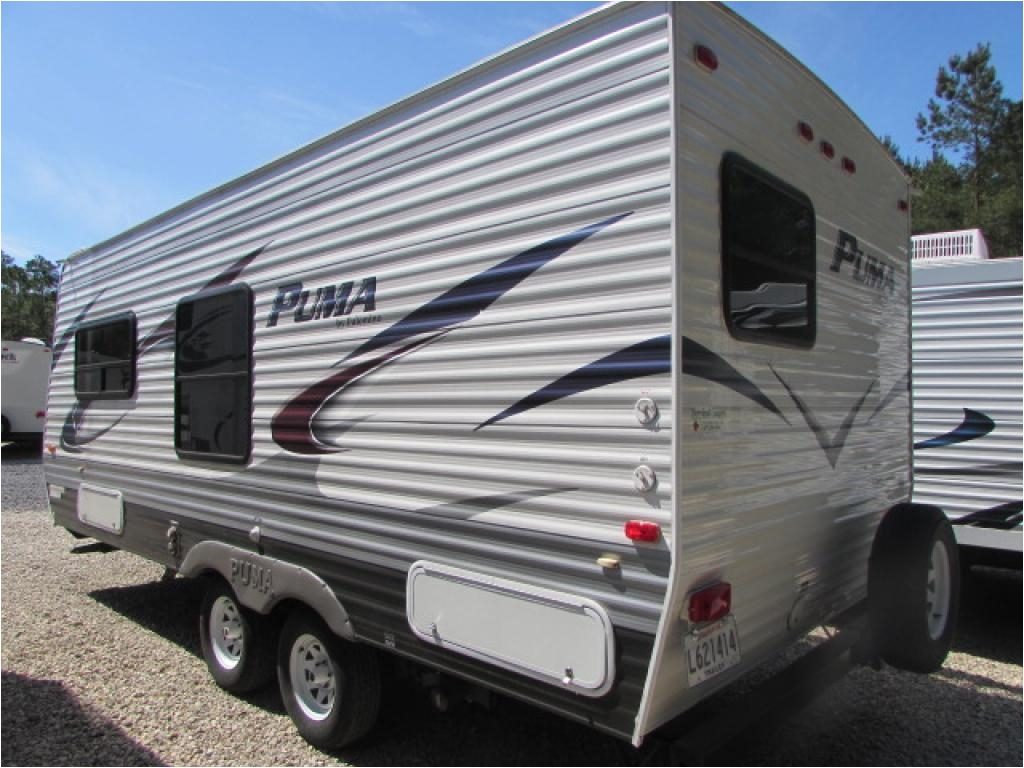 2013 palomino puma 18db travel trailer lacombe la steves rv lacombe louisiana rv dealer