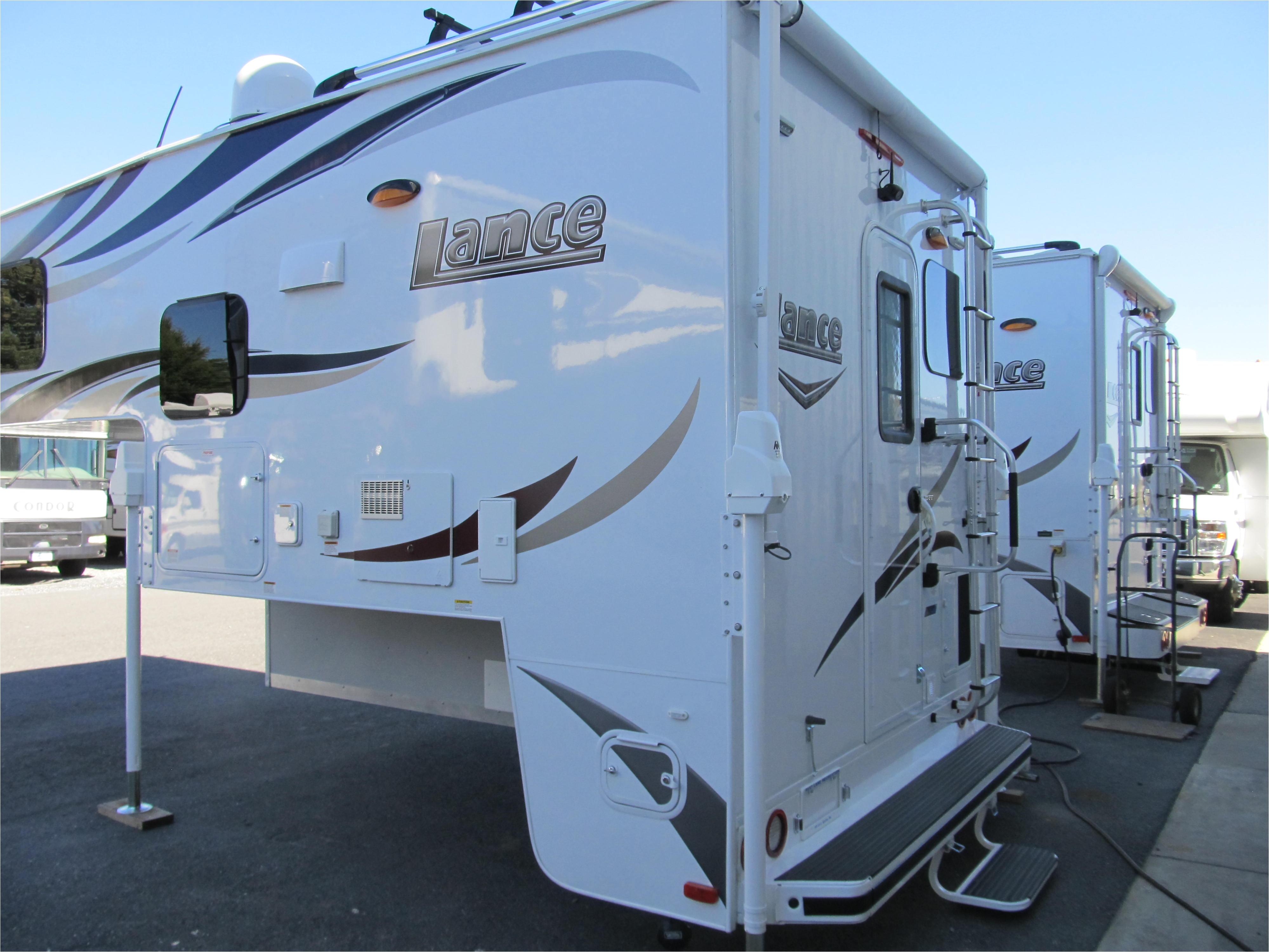 2018 lance model 855s truck camper 51 813 00 new
