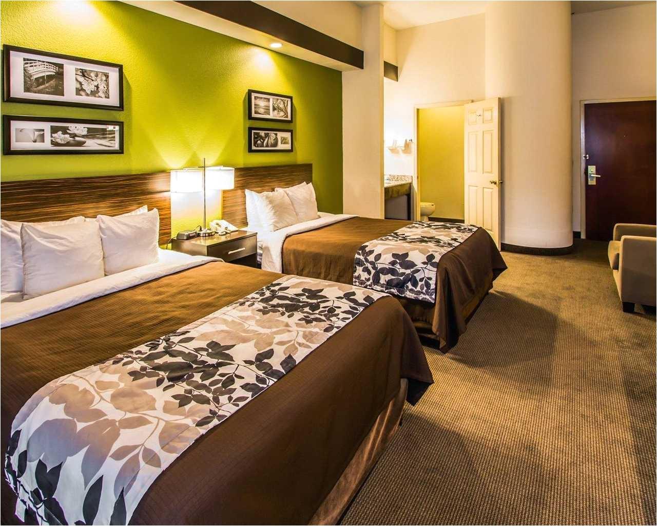sleep inn orlando airport double beds 2