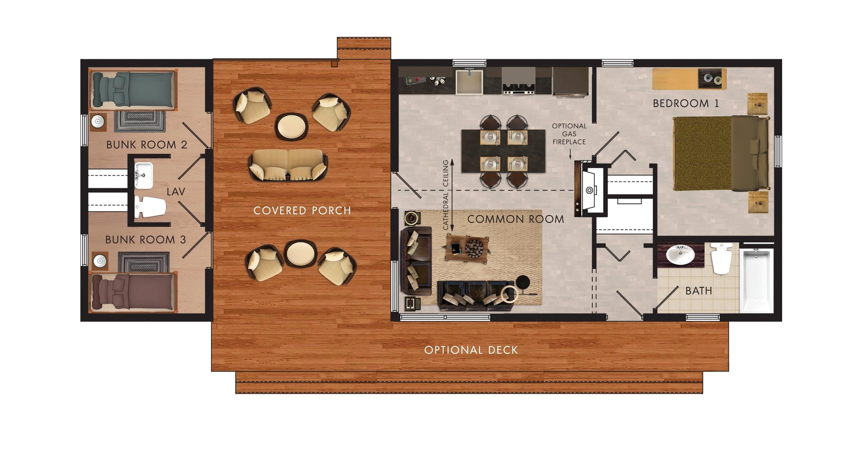 2 Bedroom Motorhome Floor Plans Travel Trailers With Bunk Beds Floor