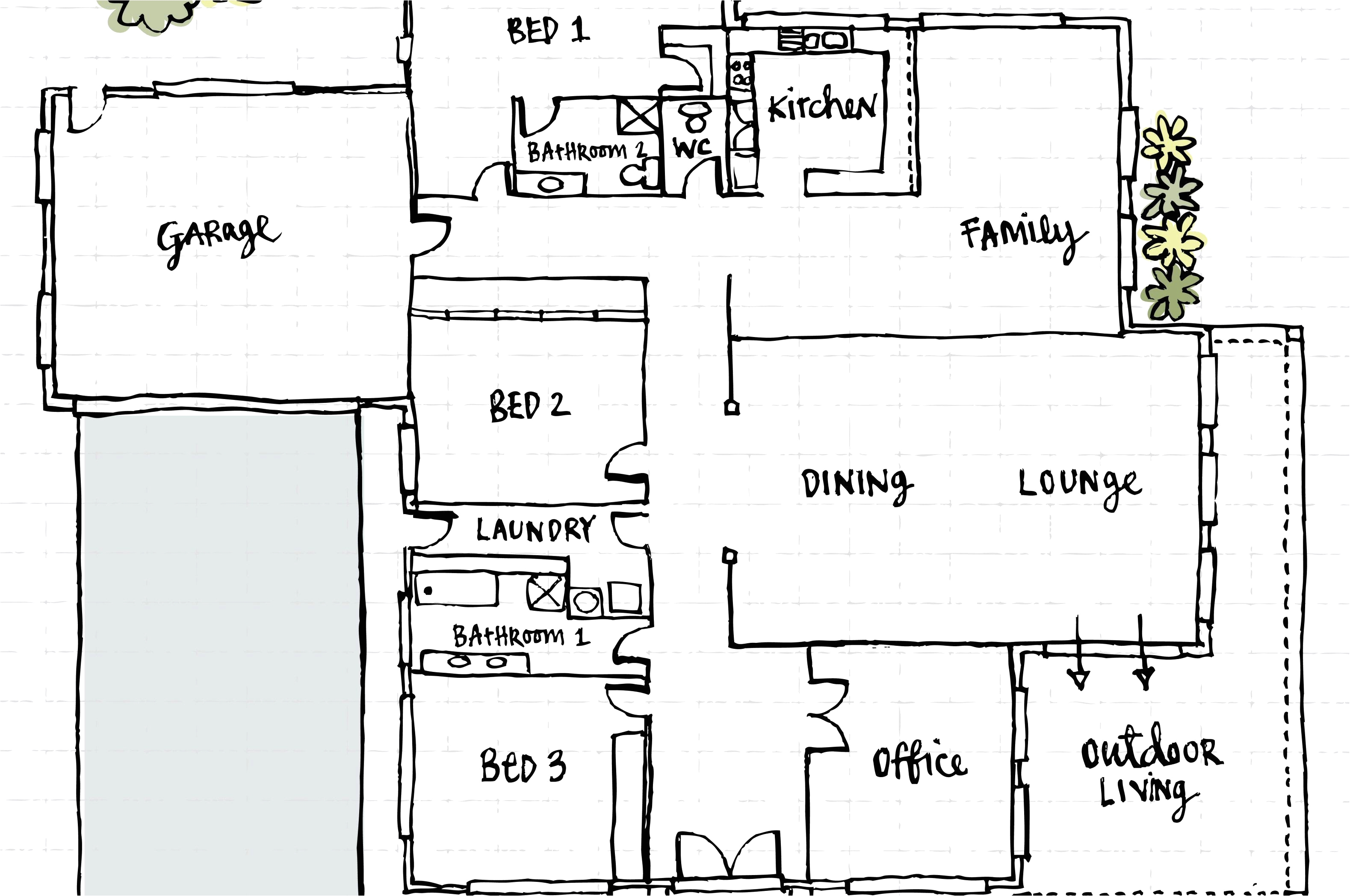 51 beautiful gallery of 2 bedroom rv floor plans