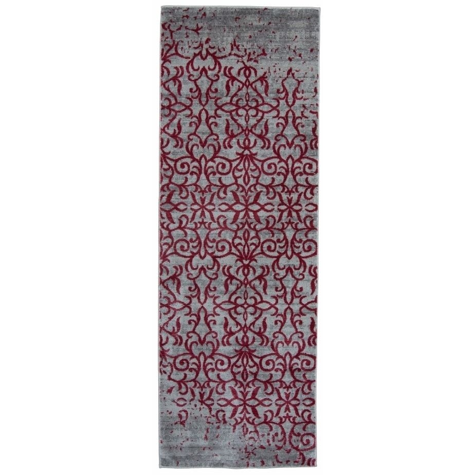 2 X 12 Runner Rugs Osti Vintage Distressed Red Runner Rug 2 X 6 Size 2 X 6