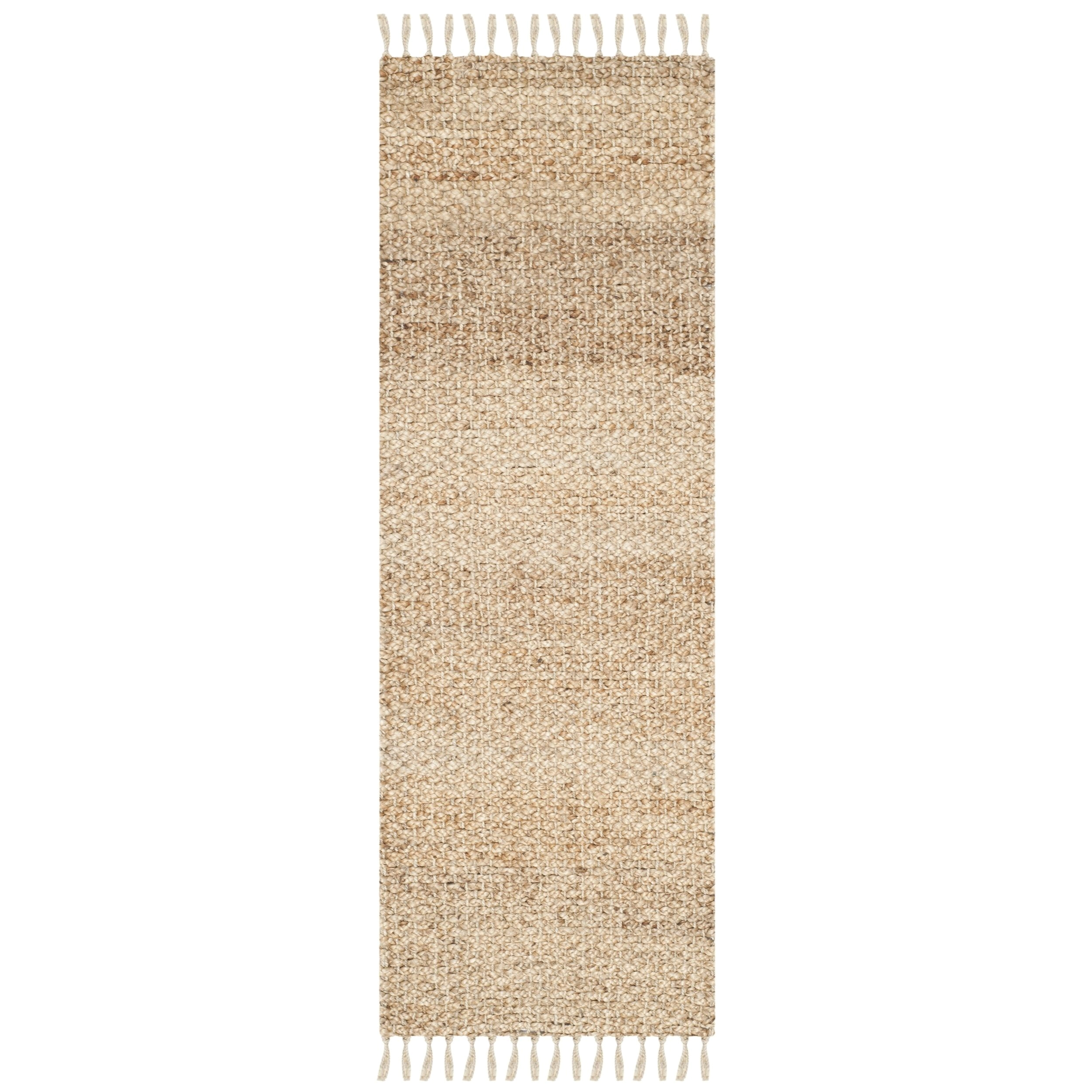 safavieh casual natural fiber hand loomed sisal style natural jute runner rug 2