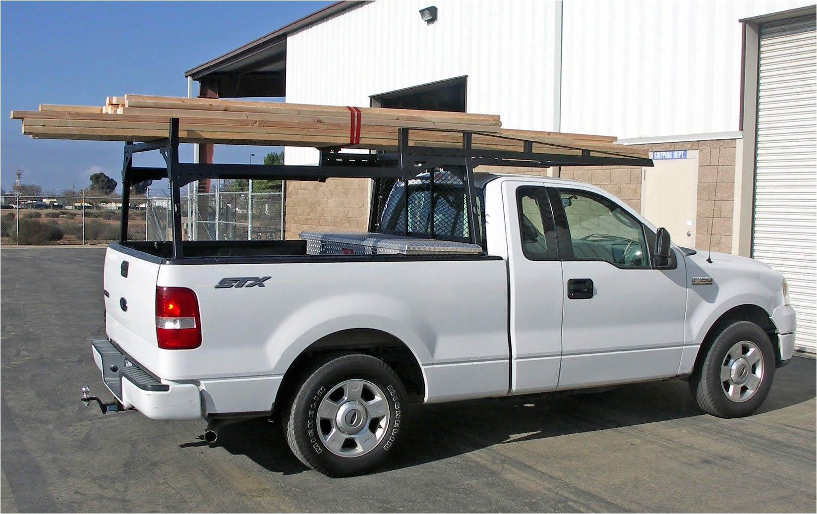 2004 Ford F 150 Ladder Rack Heavy Duty Truck Racks Www Xl Supercab Heavydutytruckracks Com Image Of Job