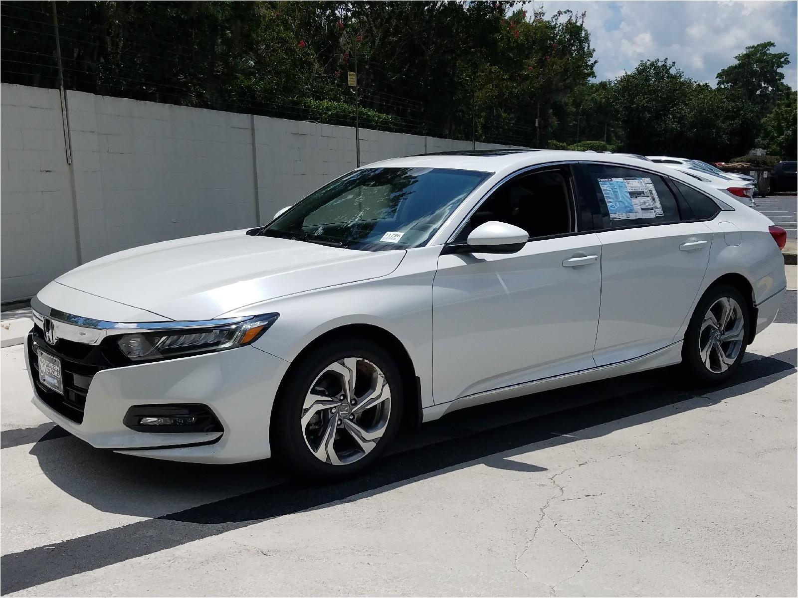 new 2018 honda accord ex 4d sedan in savannah t1796 southern motors honda