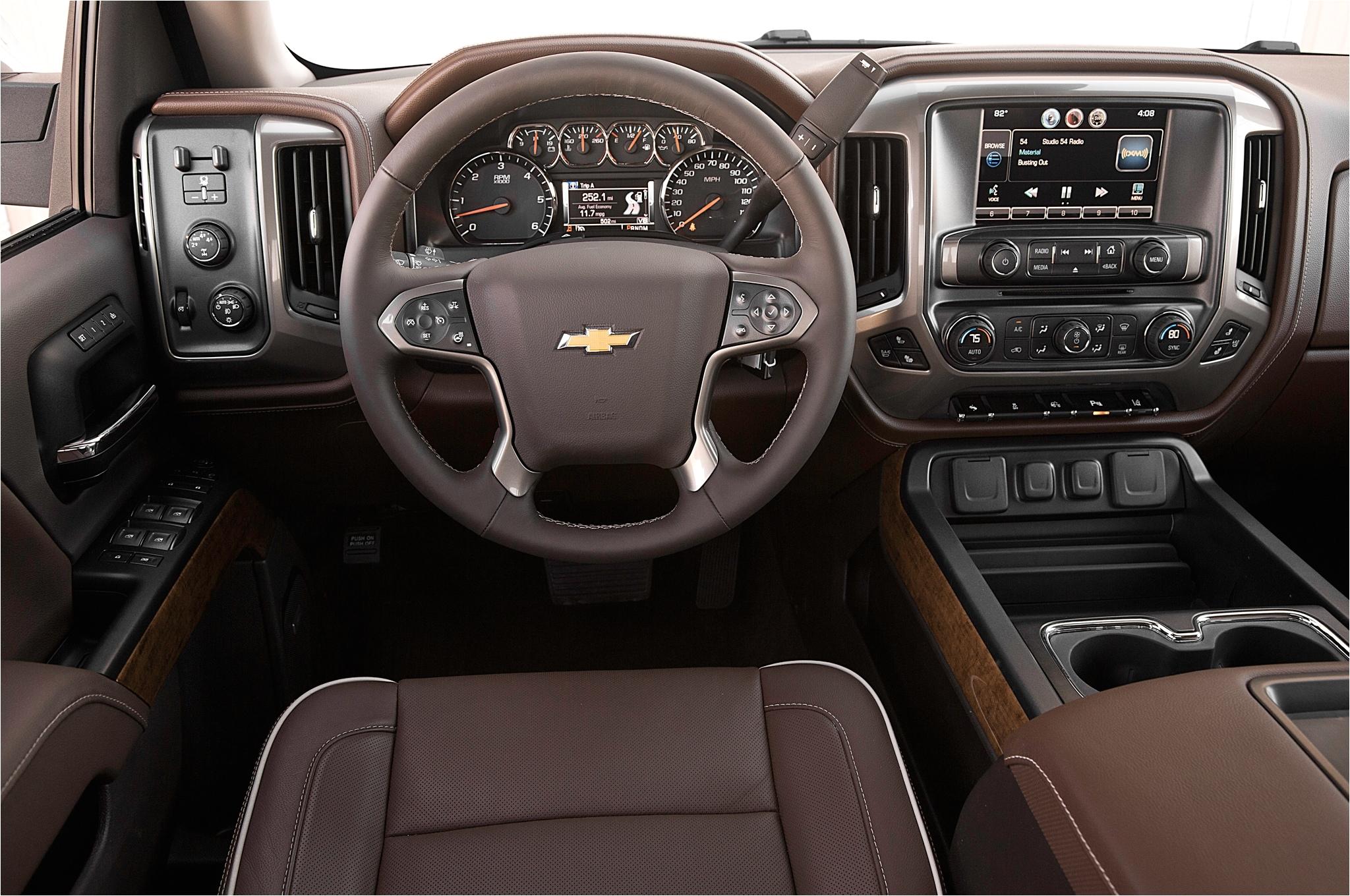 chevy silverado high country interior fresh 2015 chevrolet silverado 1500 interior image 19