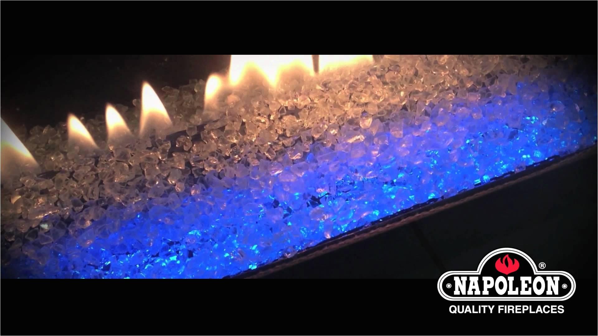 napoleon fireplaces led light transitioning effects