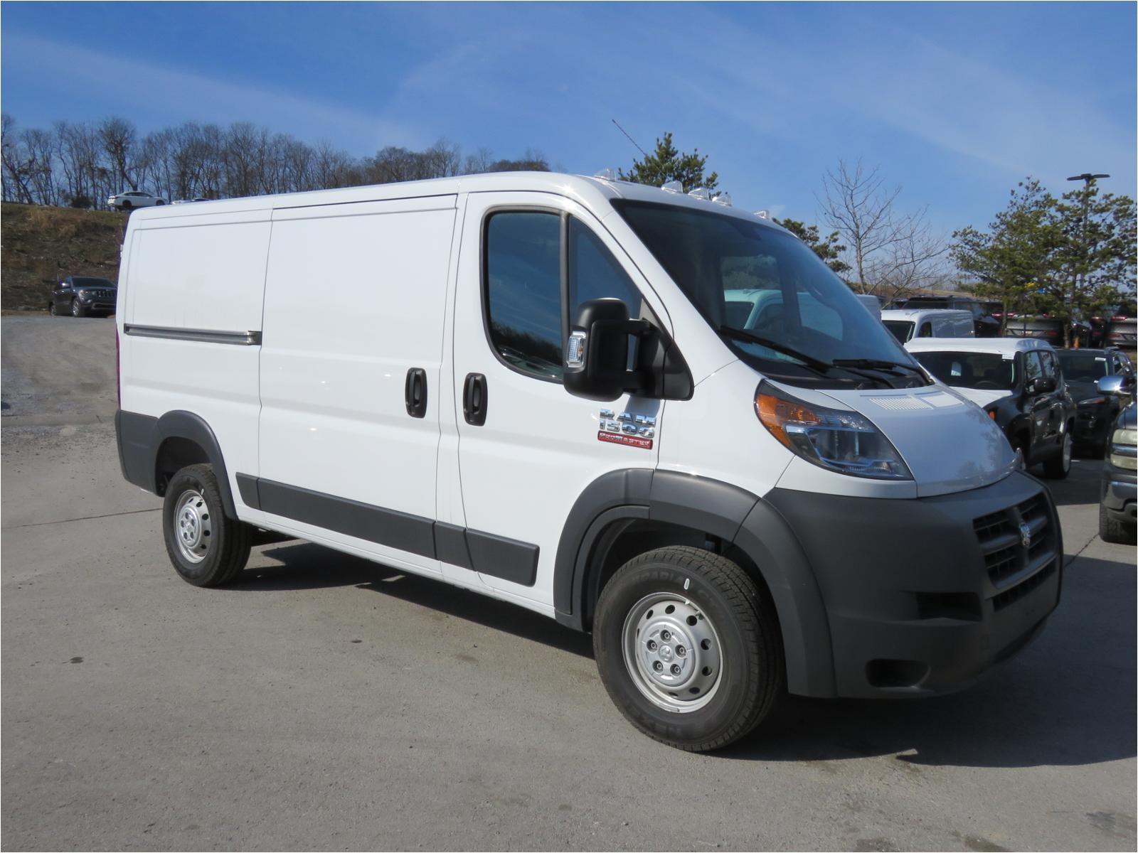 new 2018 ram promaster cargo van