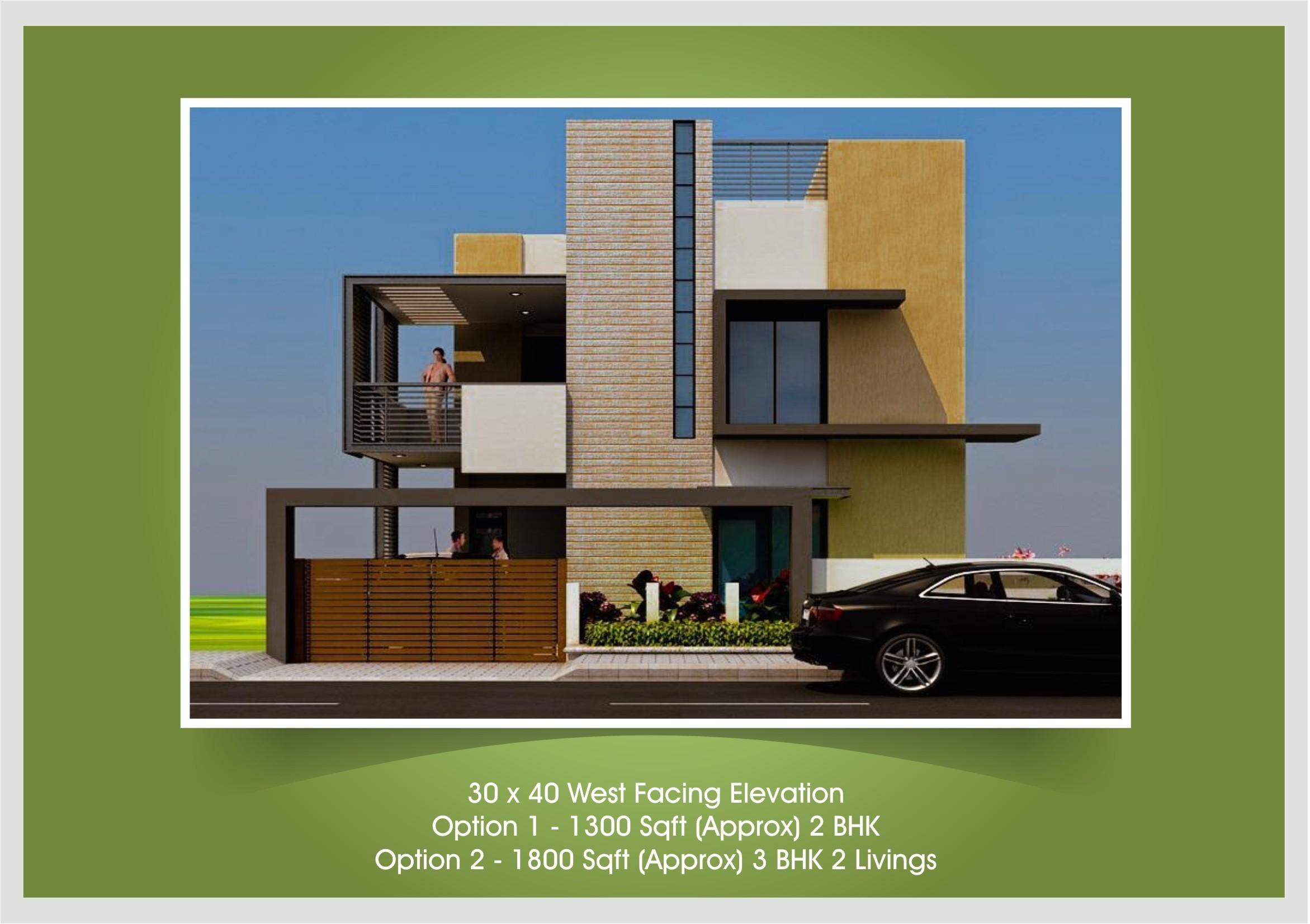20 40 House Plan Elevation 40 X 40 Duplex House Plans Inspirational