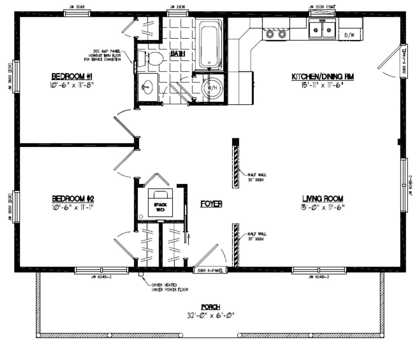 24x36 ranch house plans fresh fresh 24 x 36 2 bedroom house plans house plan