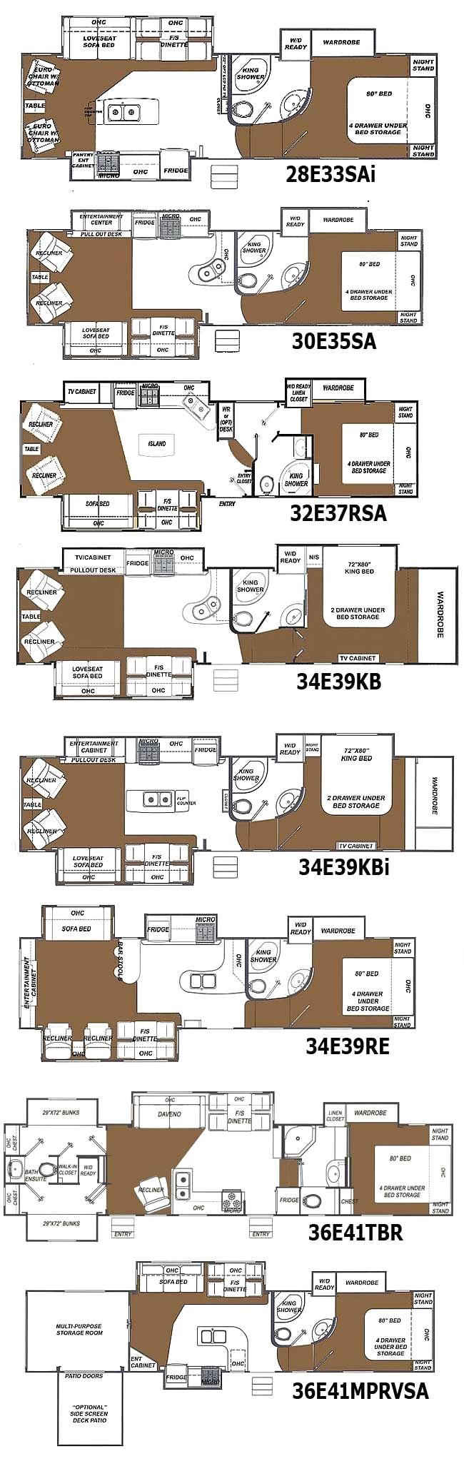 titanium fifth wheel floor plans beautiful 40 best fifth wheel rvs images on pinterest