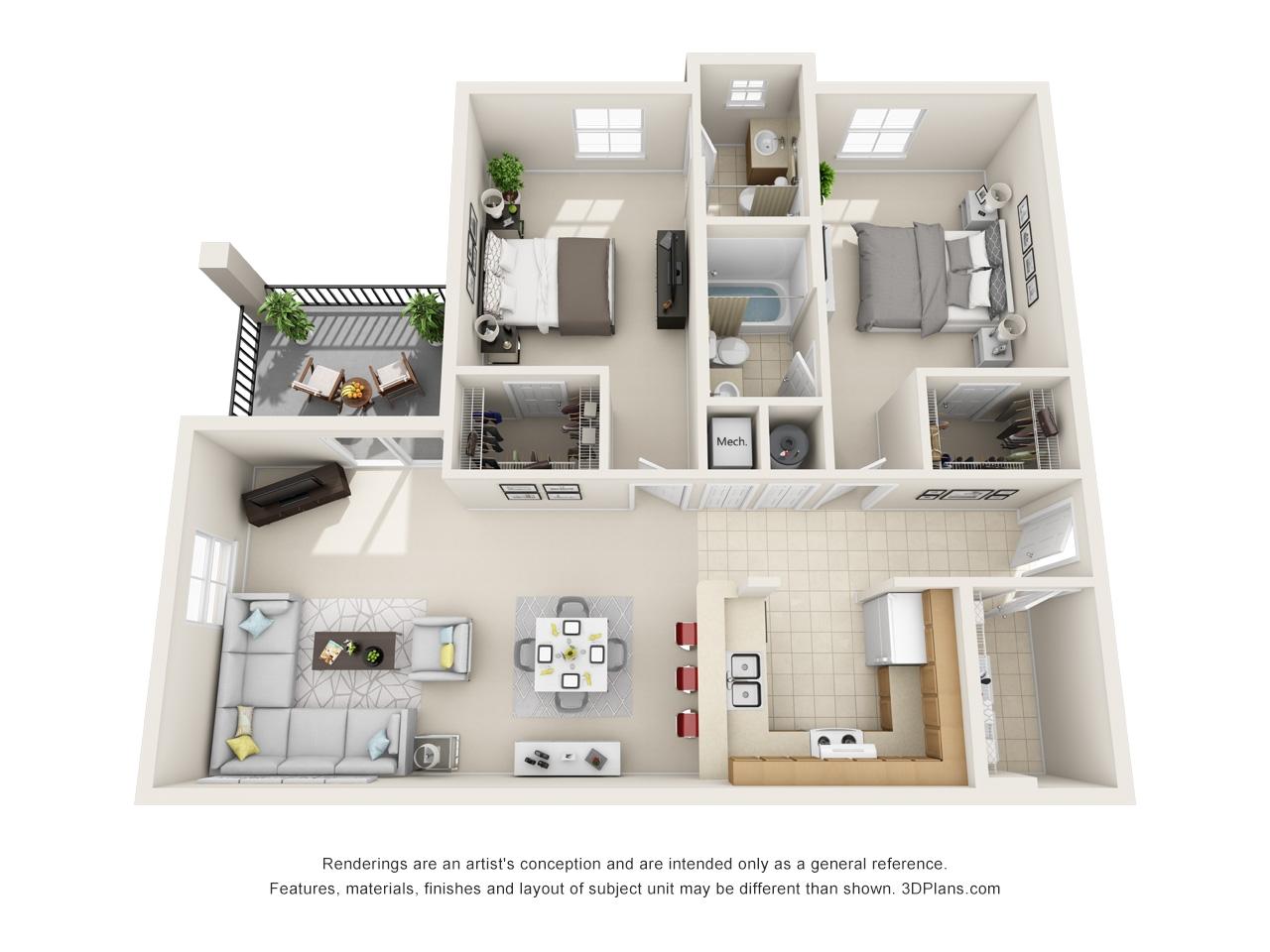3 Bedroom 2 Bath Apartments for Rent In orlando Fl 2 Bed 2 Bath