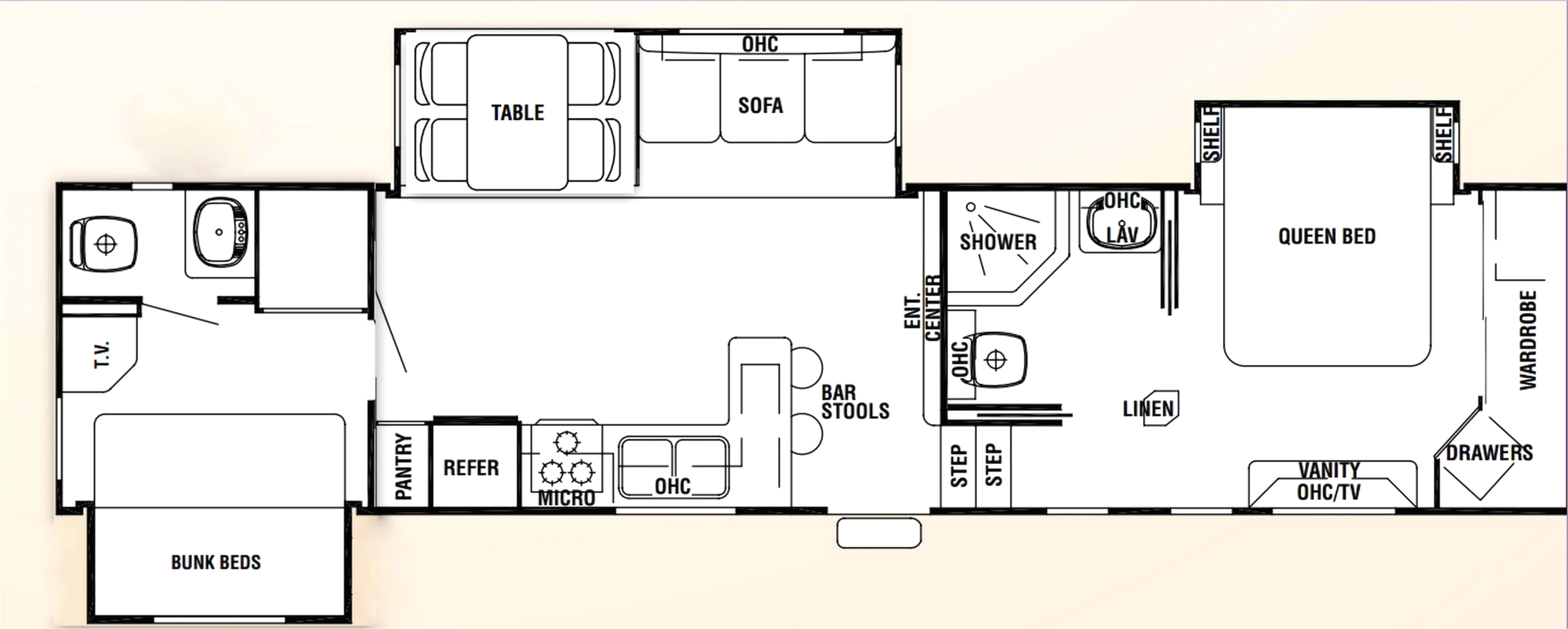 fifth wheel tiny house plans 5th wheel tiny home plans fresh 3 bedroom fifth wheel home