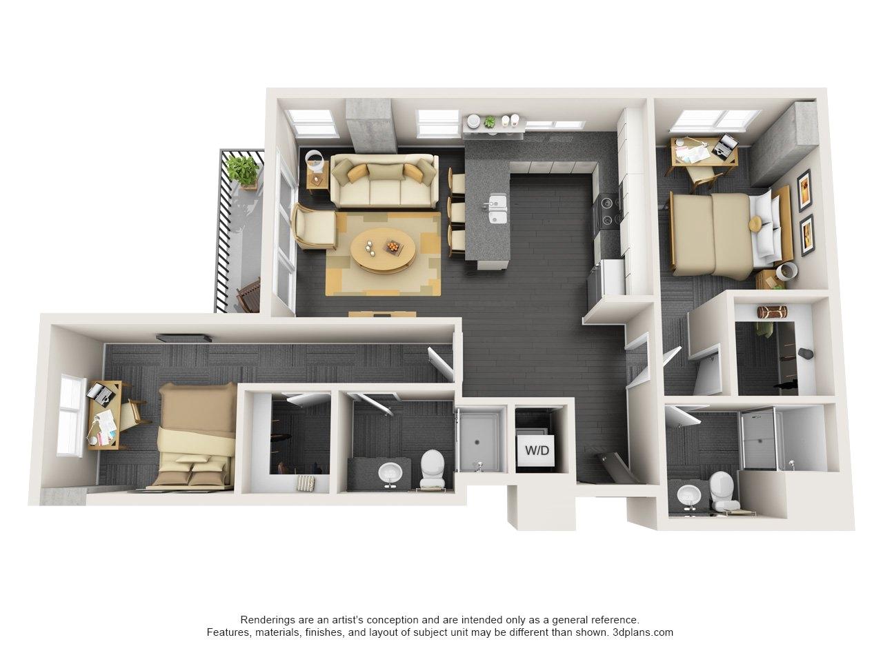 3 bedroom apartments in tempe az near asu bradshomefurnishings