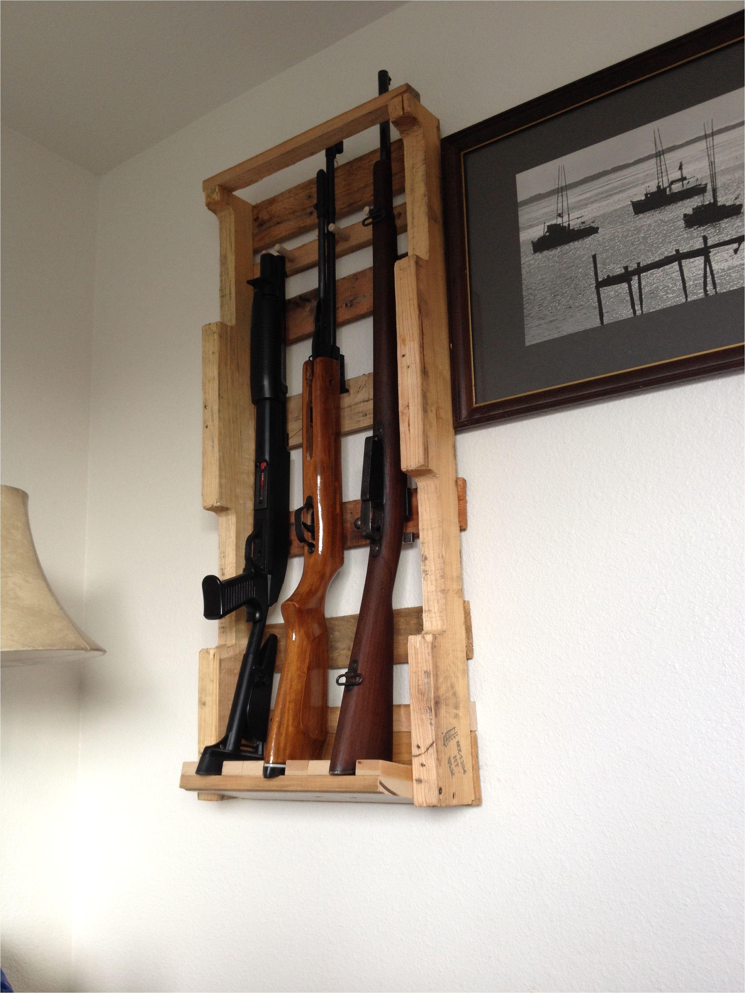 pallet gun rack