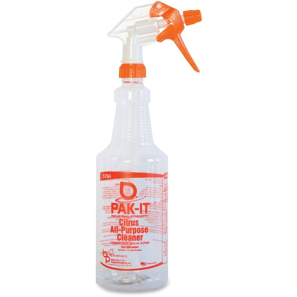 32 fl oz pak it heavy duty all purpose cleaner spray bottle
