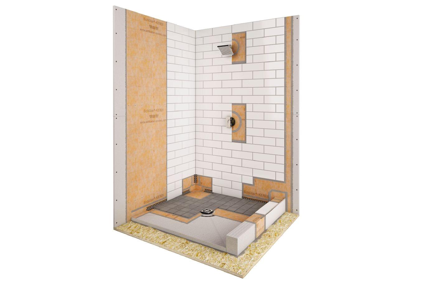 schlutera kerdi shower kit