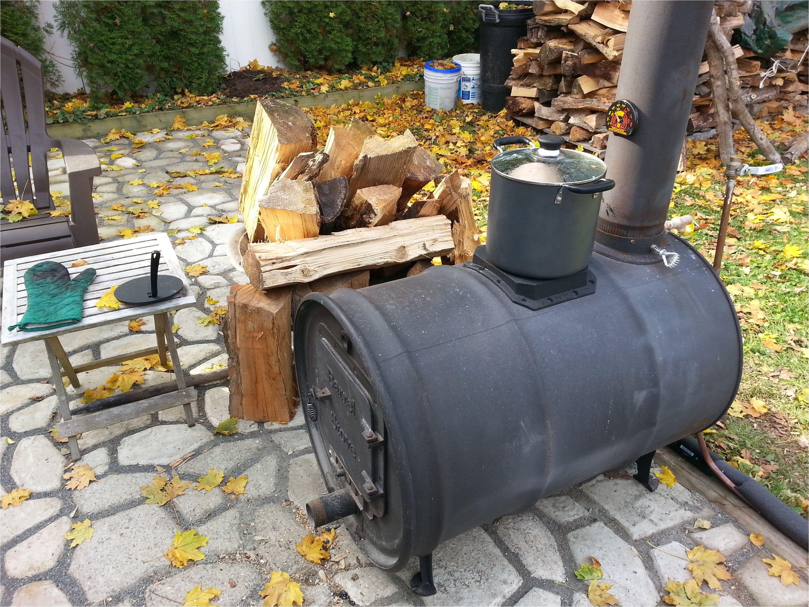 55 Gallon Drum Fireplace Kit Barrel Stove 55 Gallon Drum Stove Kit Barrel Stove Kit Outdoor