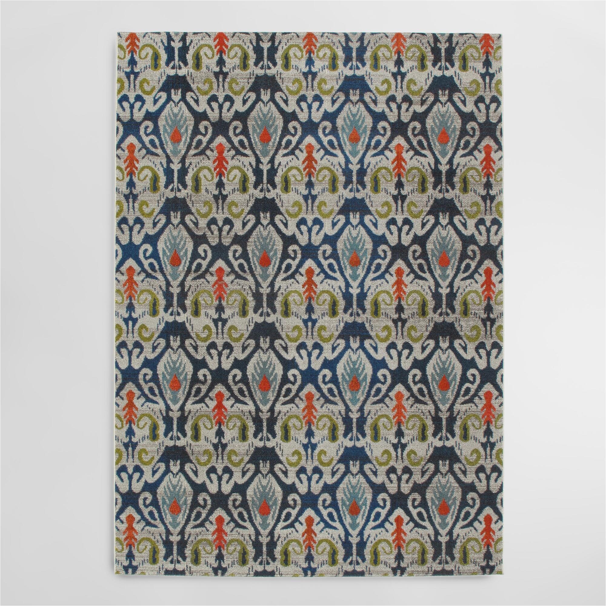 indigo blue pop area rug