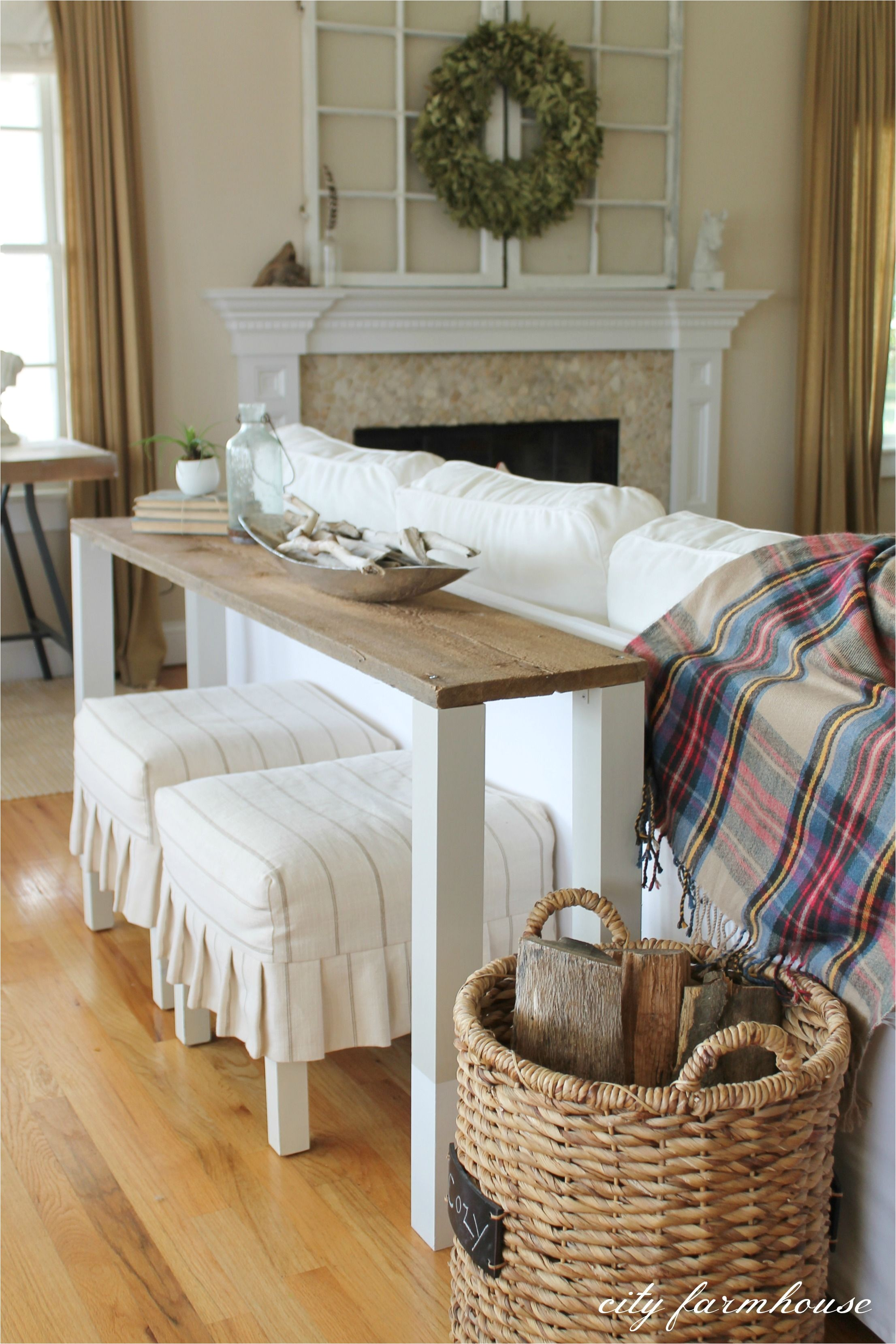 6 Foot Wide sofa Table the Easiest Diy Reclaimed Wood sofa Table Pinterest Diy sofa