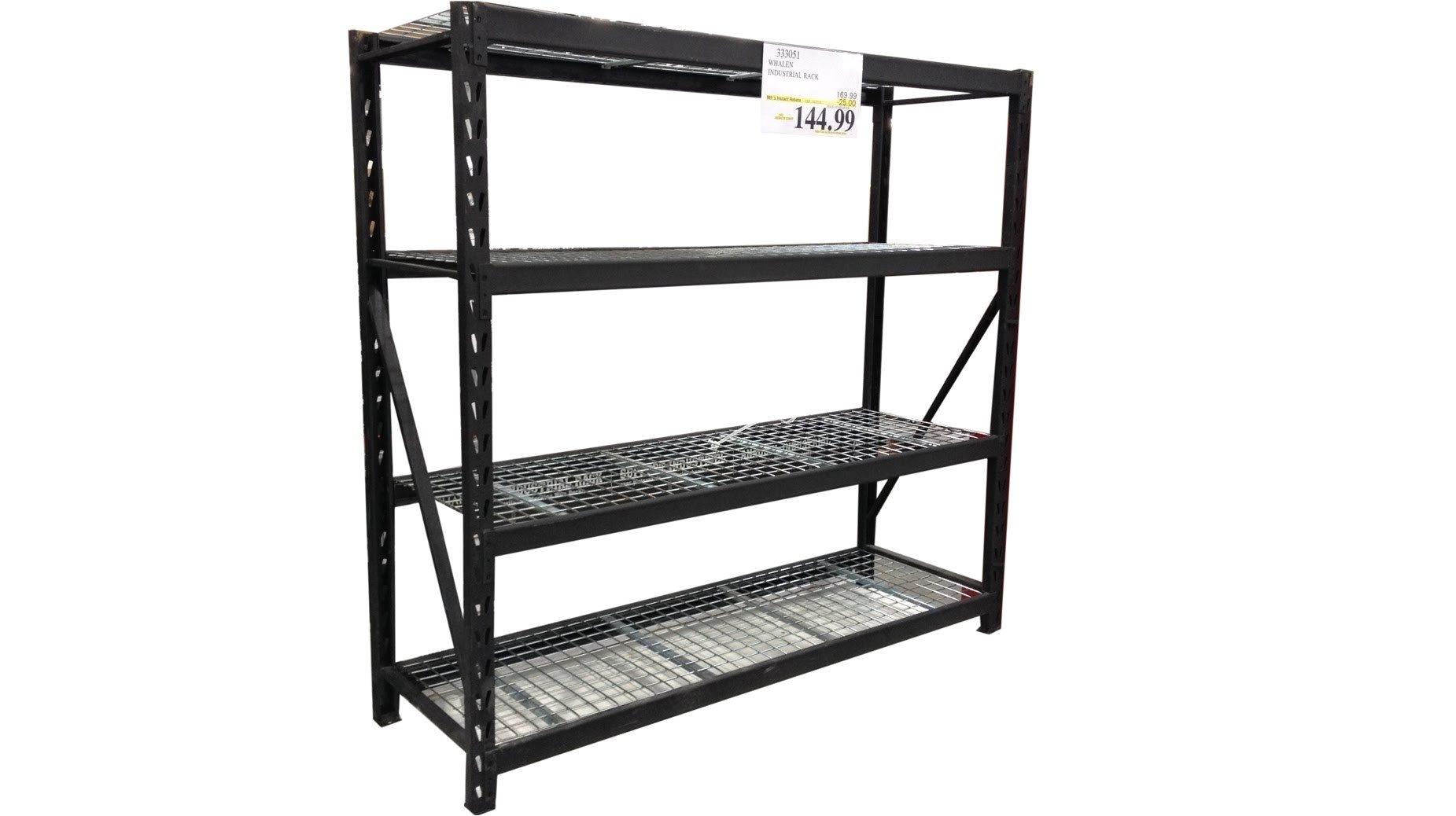 6 Shelf Wire Rack Costco Whalen Industrie Rack Zuhause Inspiration Design