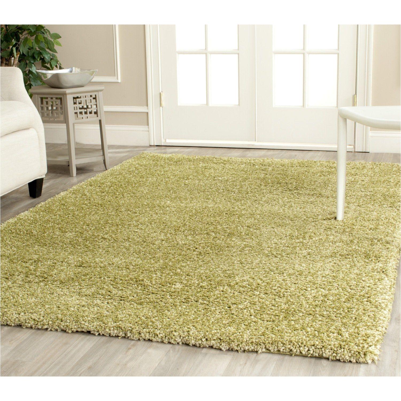 safavieh california shag collection sg151 5252 green shag area rug 4 feet by 6 feet 4 x 6