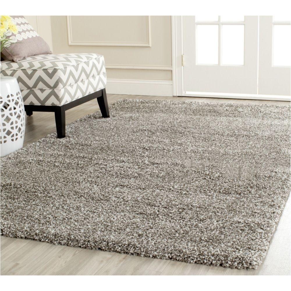 safavieh milan shag grey rug 4 x 6 overstock com