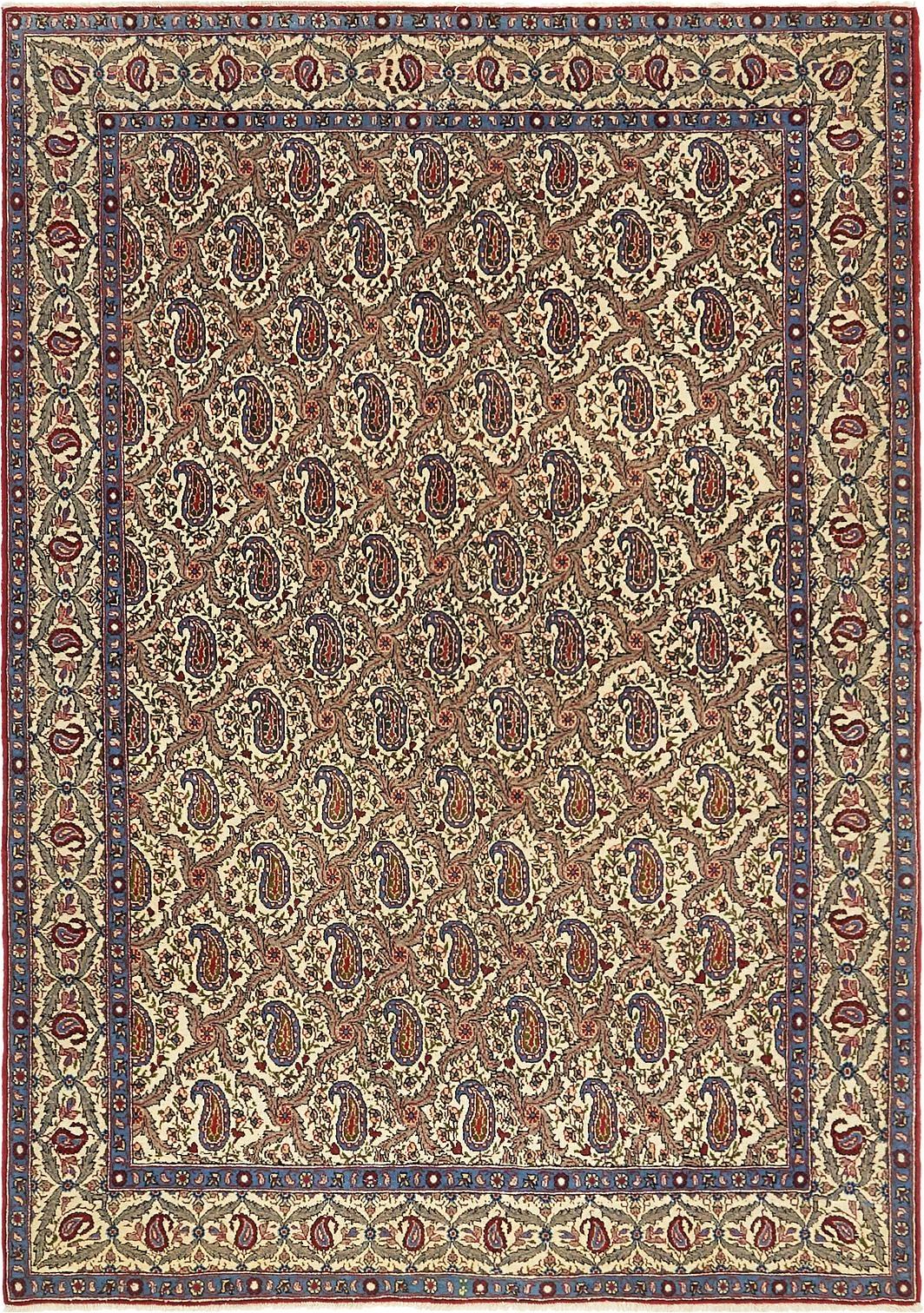 4 7 x 6 7 qom persian rug