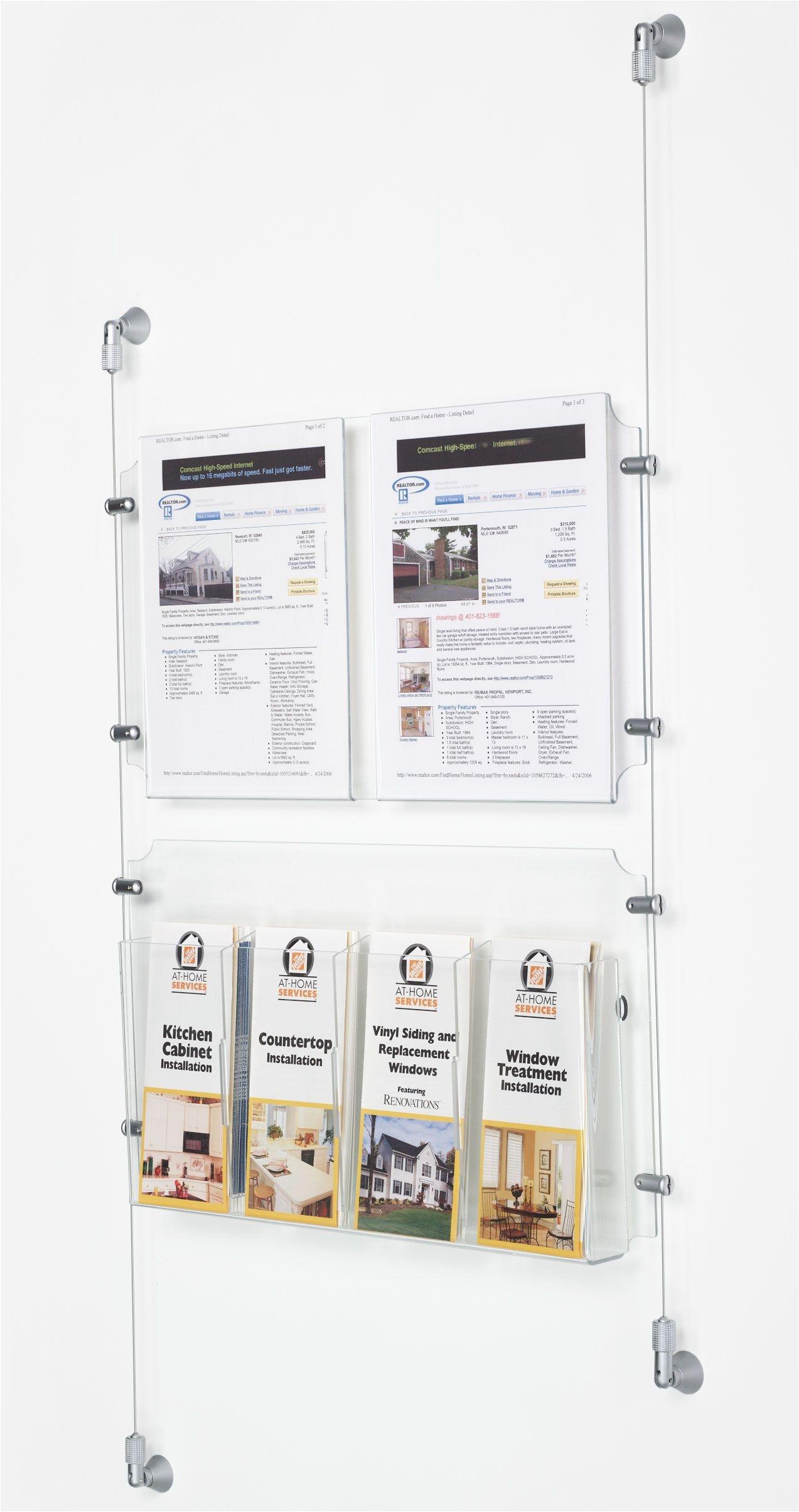 perfect acrylic brochure holders
