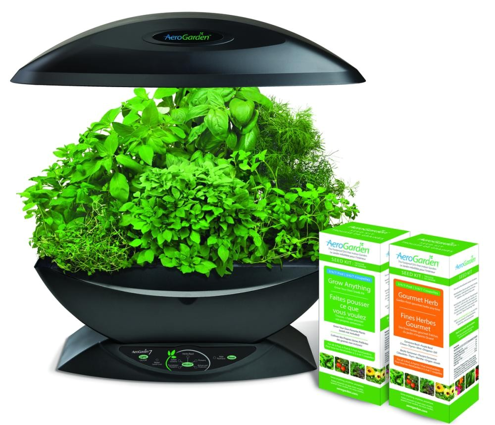 Aero Herb Garden Aerogarden 7 W Gourmet Herb Grow Anything Kit Aero500