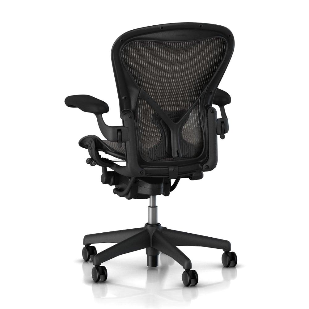 Aeron Chair Sizes Dots Herman Miller Aeron Chair Classic Carbon Size B