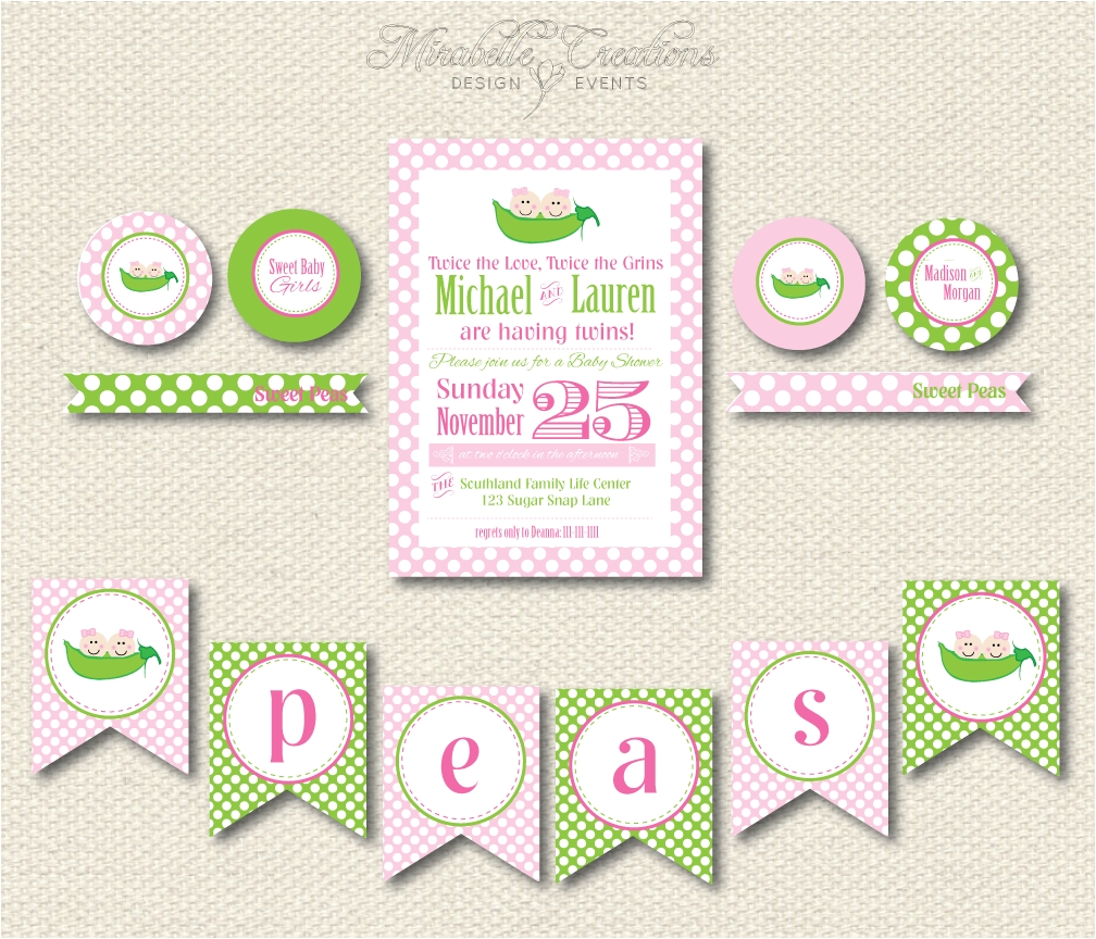 African American Two Peas In A Pod Baby Shower Decorations Peas In A Pod Baby Shower Choice Image Handicraft Ideas Home
