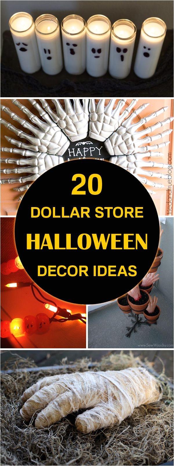 20 dollar store halloween decor ideas