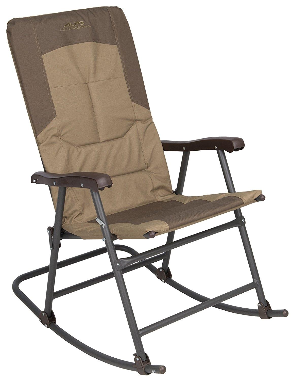 Alps Mountaineering King Kong Chair Khaki Amazon Com Alps Mountaineering Rocking Chair Sports Outdoors