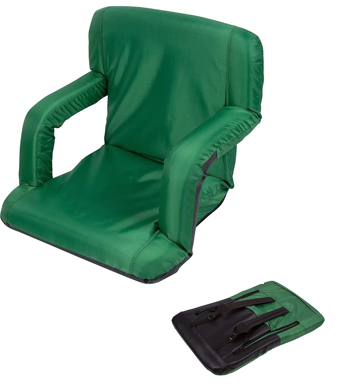 Amazon Picnic Time Stadium Chair Amazon Com Portable Multiuse Adjustable Recliner Stadium Seat by