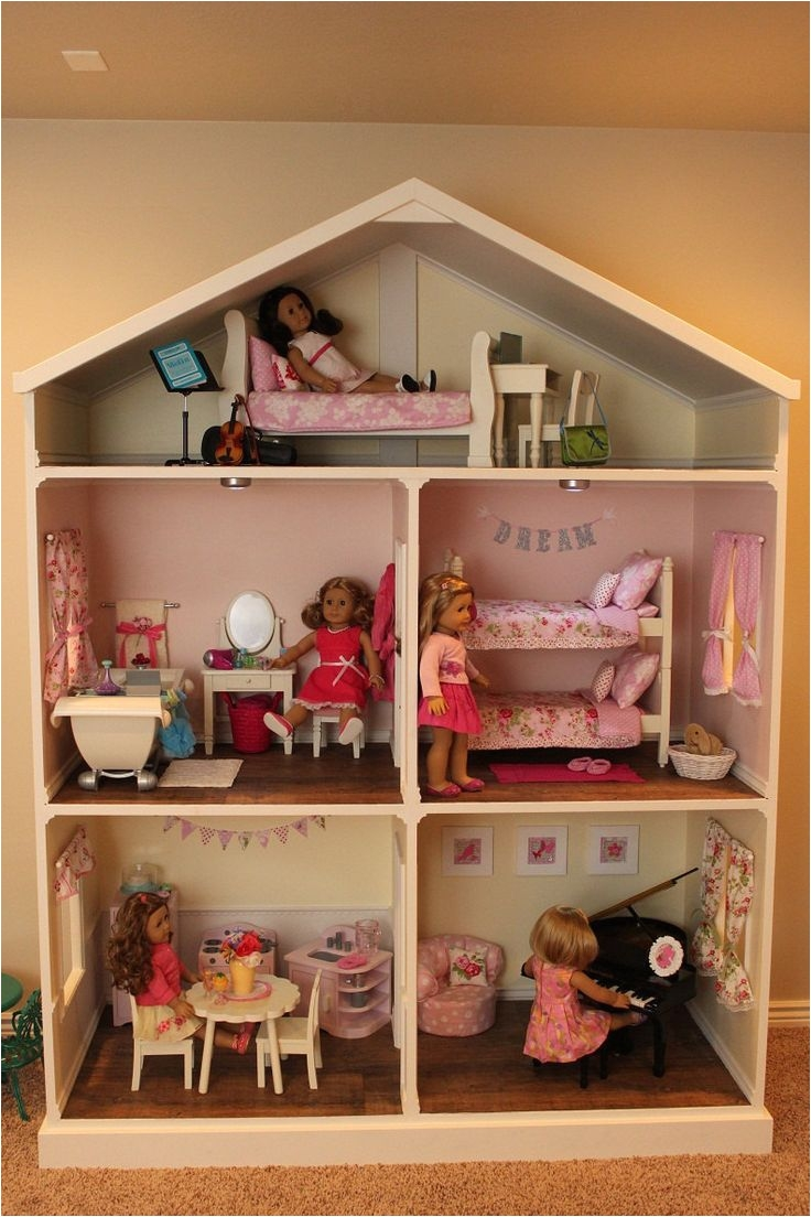 american girl dollhouse plans pdf 108 best american girl furniture images on pinterest
