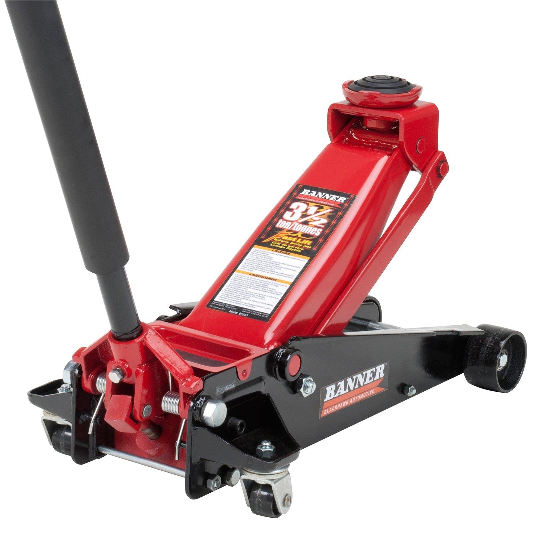 American Made Floor Jacks for Sale Amazon Com Blackhawk B6350 Black Red Fast Lift Service Jack 3 5