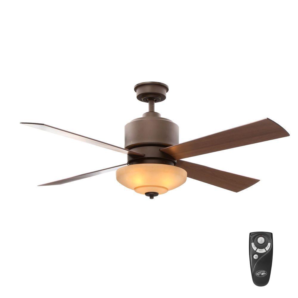 Antique Bronze Floor Fan Hampton Bay Alida 52 In Indoor Oil Rubbed Bronze Ceiling Fan with
